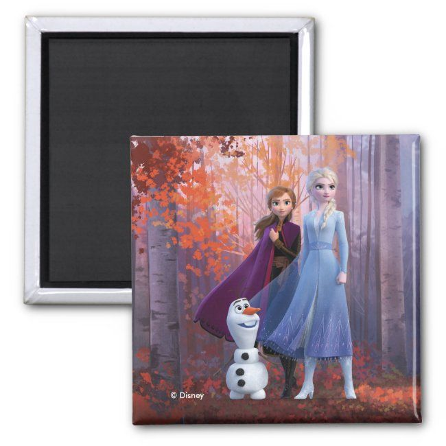 Frozen 2 Anna Elsa Olaf Magnet Affiliate Affiliate Elsa Amp Olaf Shop Frozen In 2020 Elsa Olaf Frozen Olaf