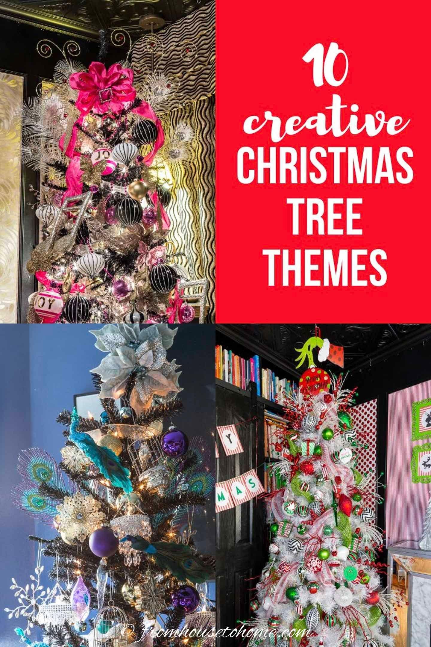 10 Creative Christmas Tree Theme Ideas That Will Inspire You Christmas Tree Themes Christmas Tree Sale Creative Christmas Trees