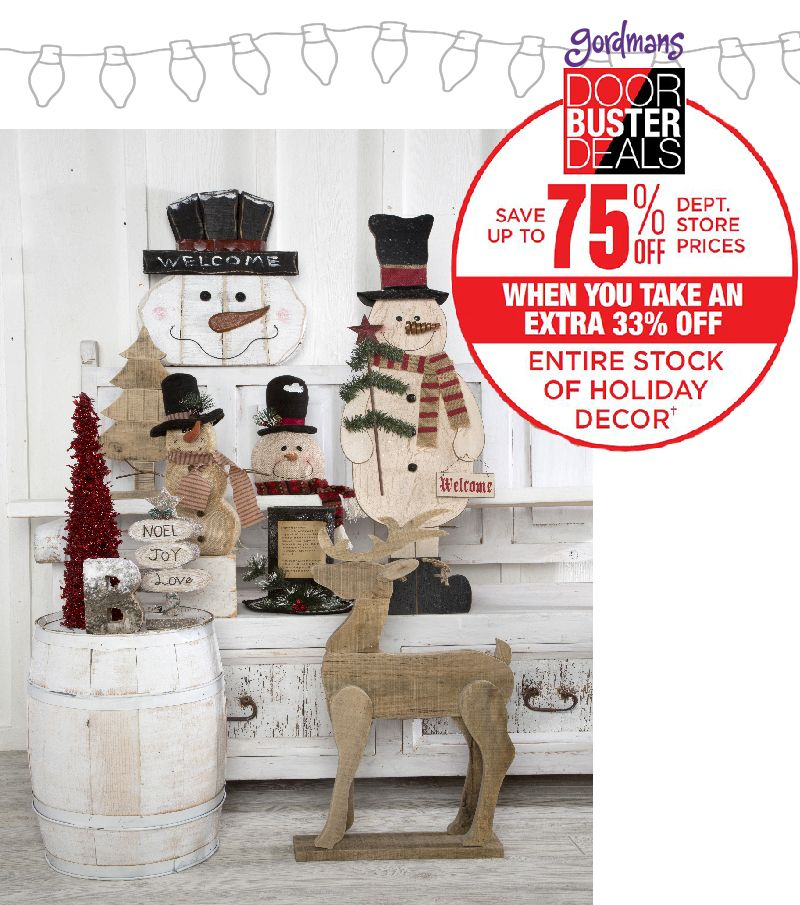 Holiday Home Decor For A Great Price Decorate Your Christmas With The Best Black Friday