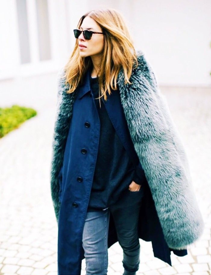 The Blogger With the Best Winter Outfit Ideas via @WhoWhatWear