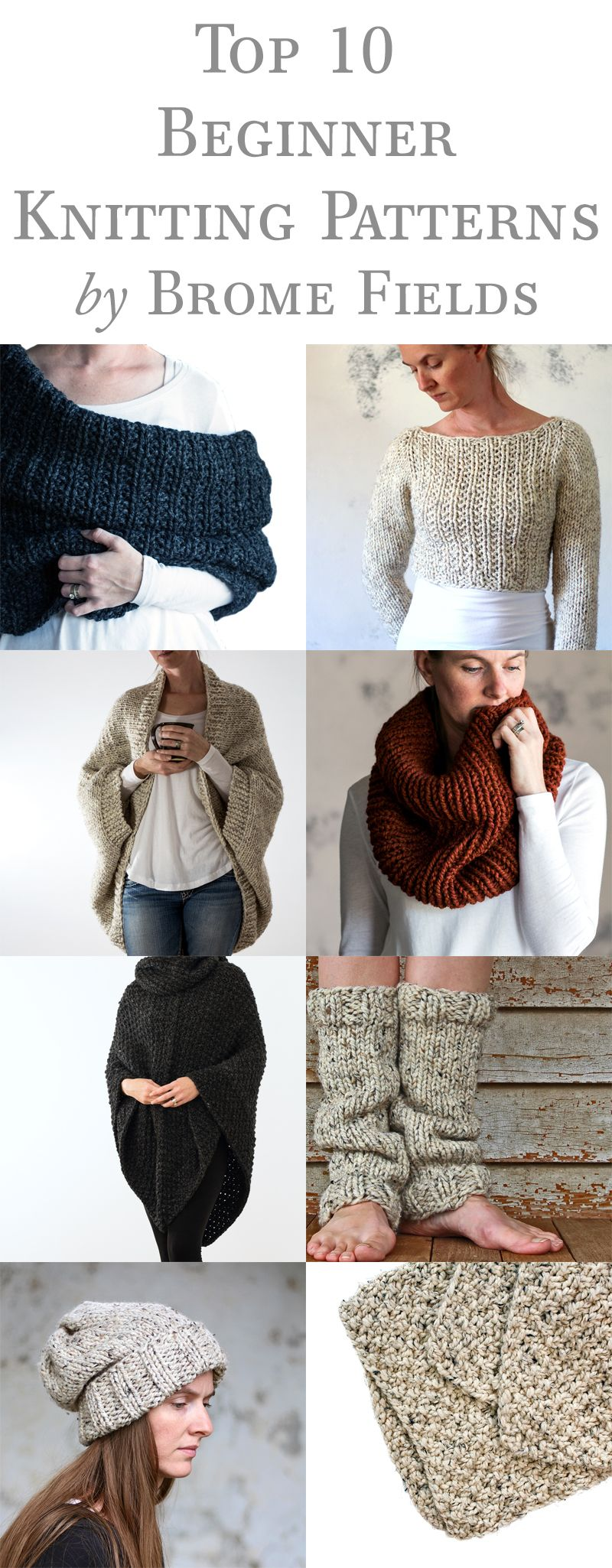Top 10 Beginner Knitting Patterns