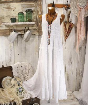 robe dentelle boheme blanche lyly la comtesse 34 90 euros. Black Bedroom Furniture Sets. Home Design Ideas
