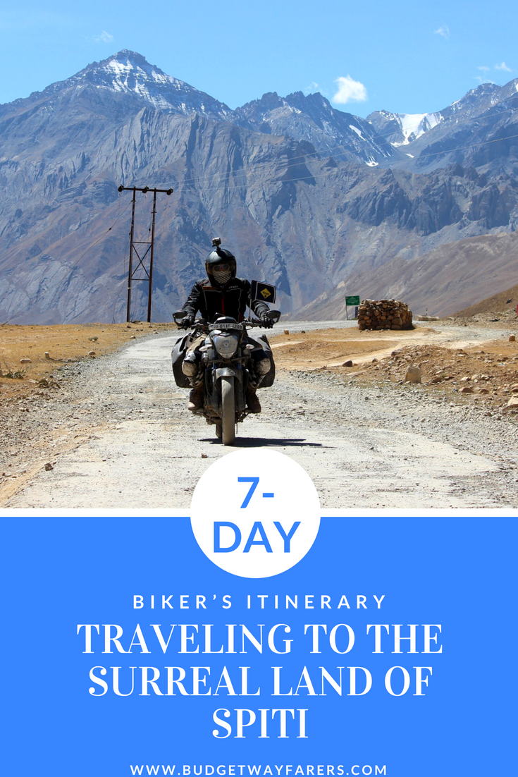 Spiti Valley Bike Trip Blog The Complete Itinerary Route With