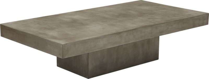 Element Waterproof Rectangular Coffee Table Cover Coffee Table - Rectangular concrete coffee table