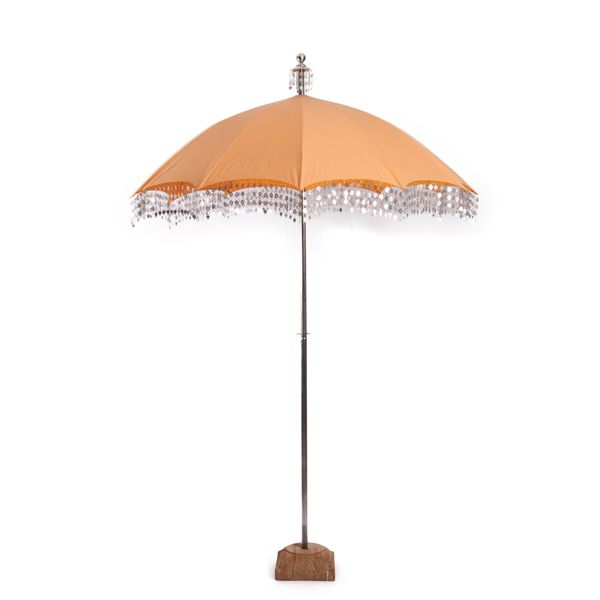 Raj Apricot Umbrella Parasol Decorative Wedding Umbrellas