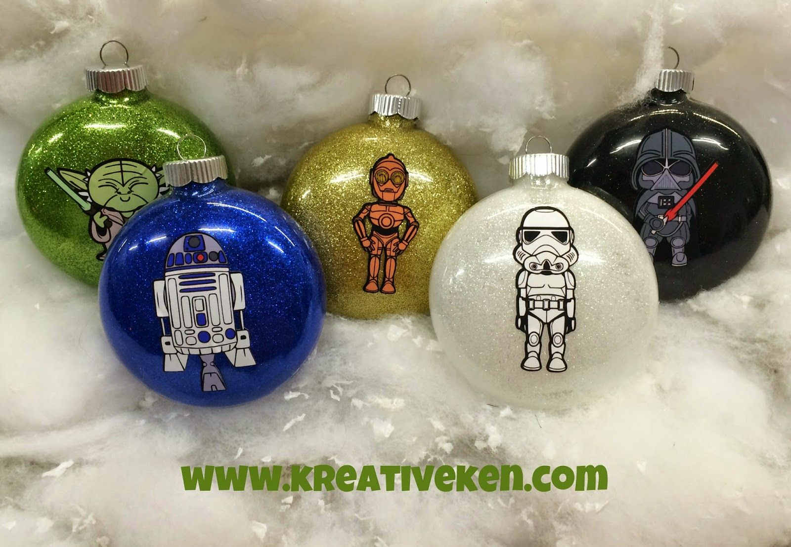 Ken S Kreations Star Wars Ornaments Star Wars Christmas Ornaments Star Wars Christmas Decorations Star Wars Christmas Tree