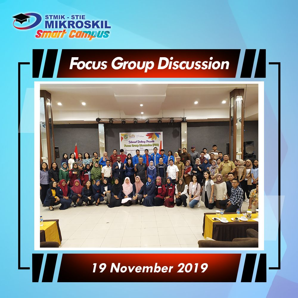 Focus Group Discussion Fgd Dinas Pariwisata Kota Medan Dengan