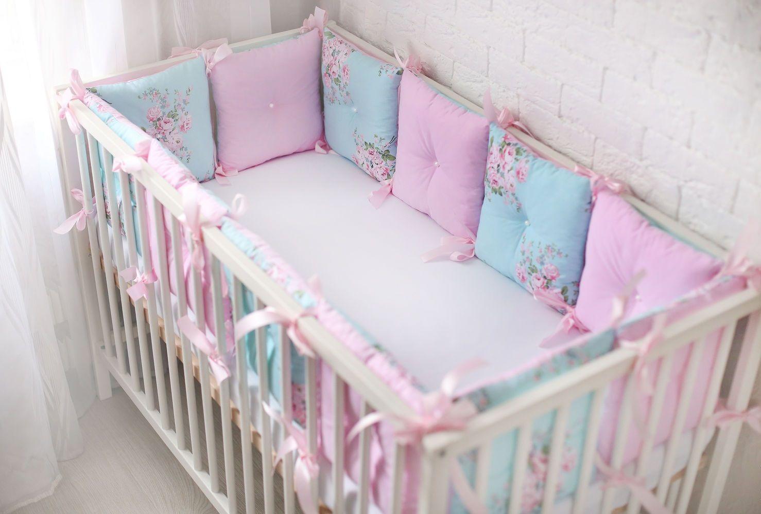 Как сшить бортики в детскую кроватку своими руками ...