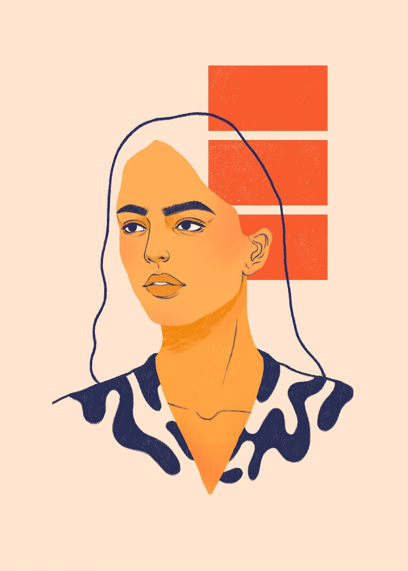 Visualizing Emotions: Illustrations by Suzanne Dias | Inspiration Grid  #emotions #Illustrationdesign #illustrations #inspiration #suzanne #visualizing
