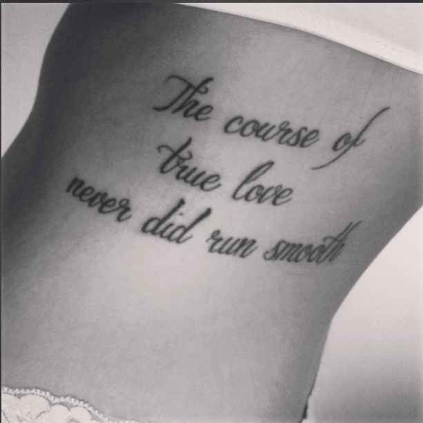 23 Epic Literary Love Tattoos: A Midsummer Night's Dream By William Shakespeare