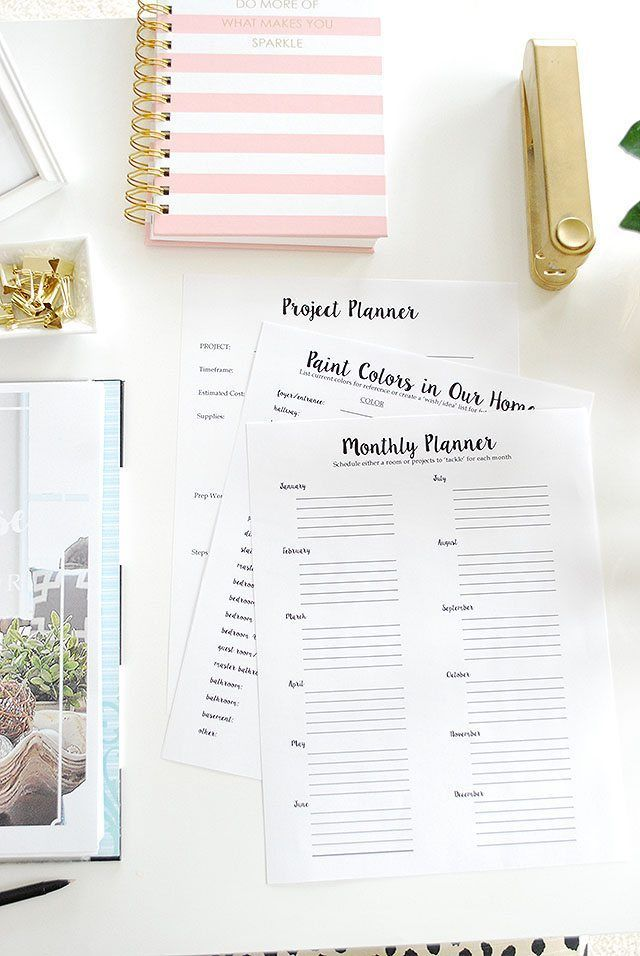 Our New Whole House Home Decor Planner (11 Magnolia Lane) | Planners ...