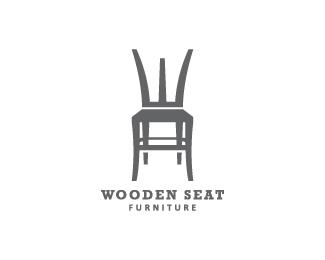 furniture logo ideas. Furniture Logo- Wooden Seat Logo Design For Ideas R