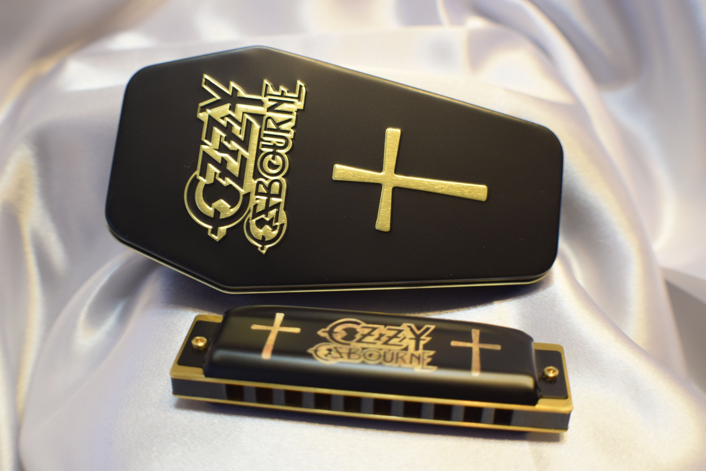 Hohner Ozzy Osbourne Harmonica Harmonicas Organ Music Guitar Cord