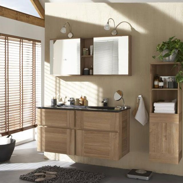 meuble salle de bain castorama isle