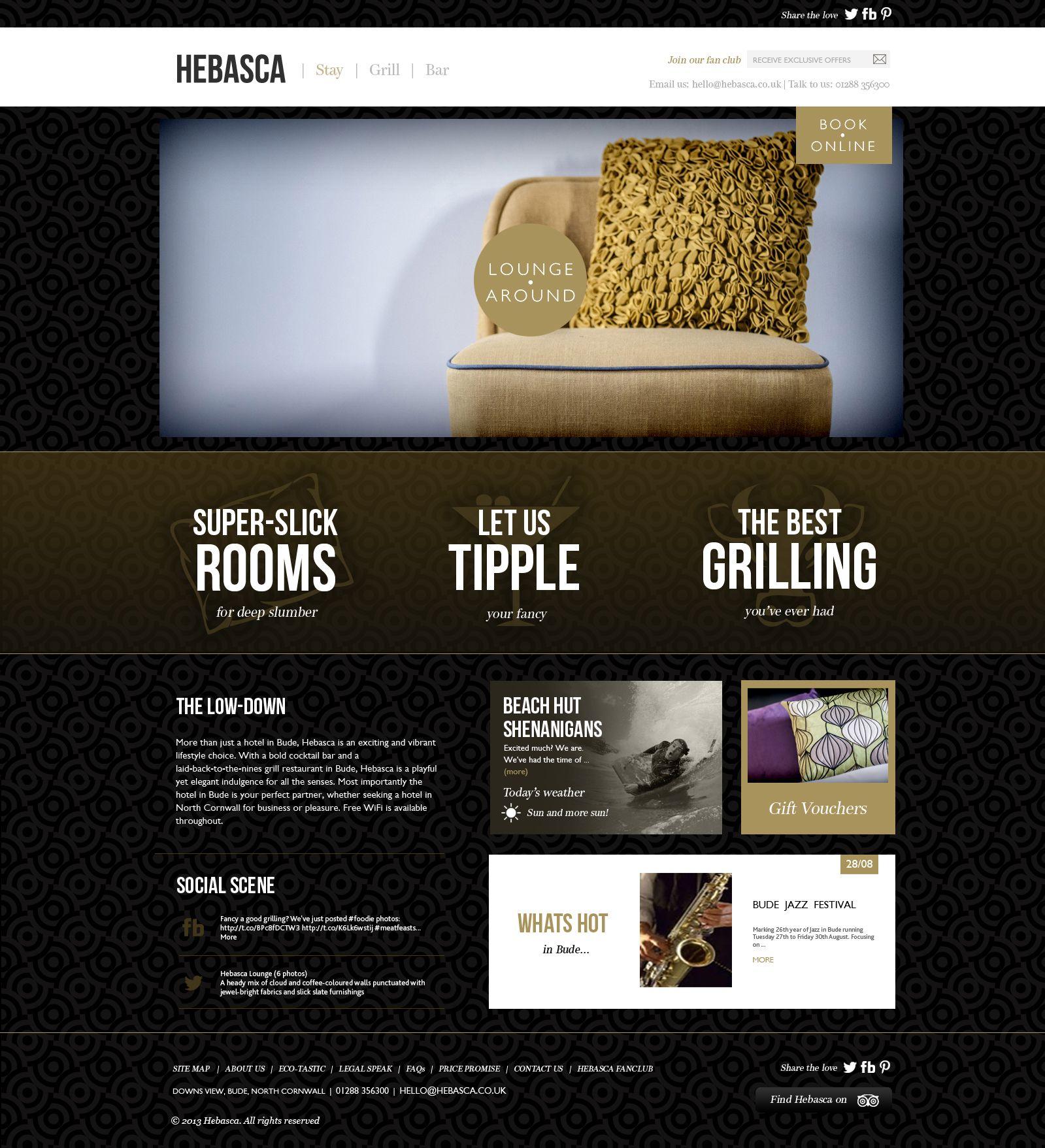 Hebasca Hotel Responsive Website C R E A T I V E Web Design