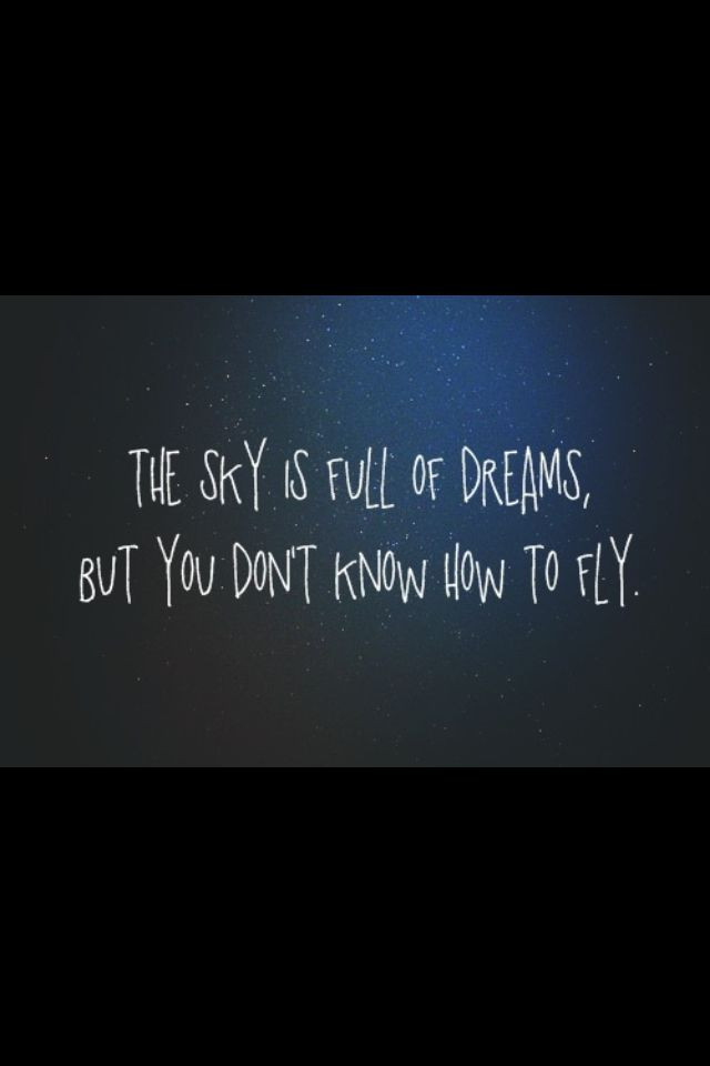 If Only We Could Fly Me Quotes Quotes Qoutes