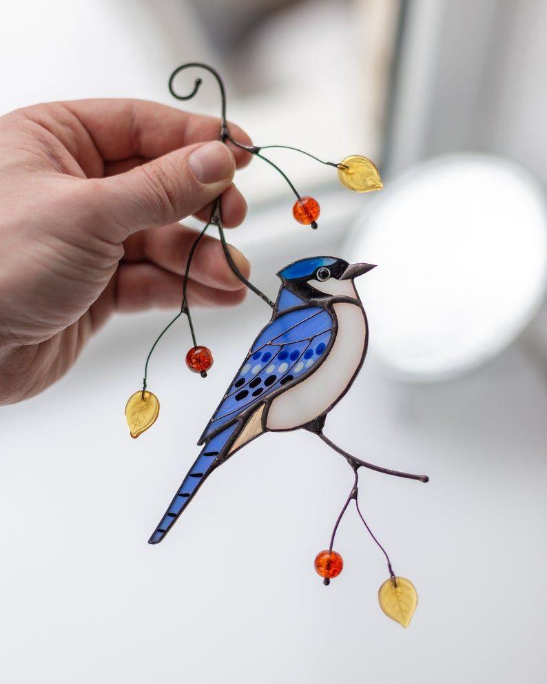 Pin En Vitrales Aves