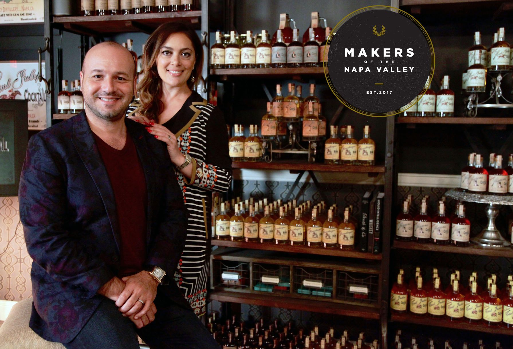 Makers of the Napa Valley Arthur & Lusine Hartunian (With
