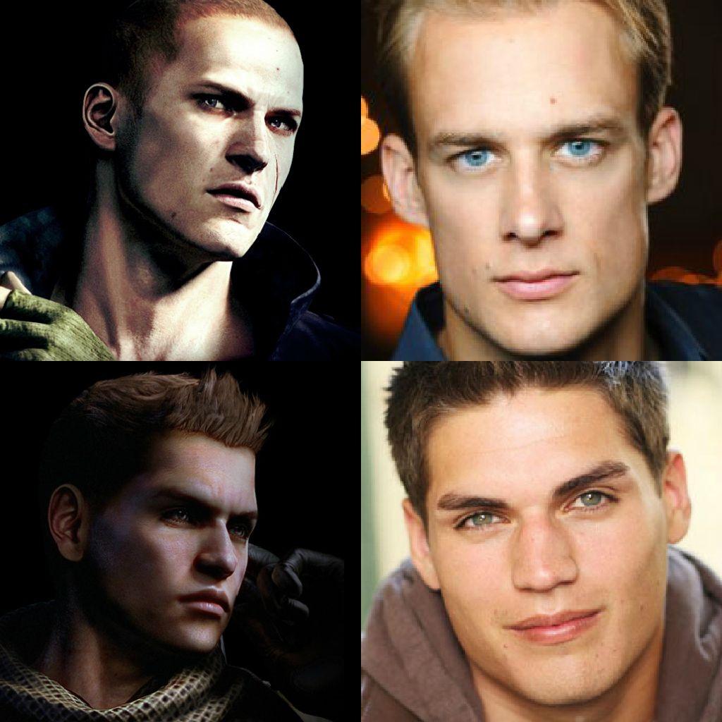 Face Models For Piers And Jake Resident Evil Evil Resident