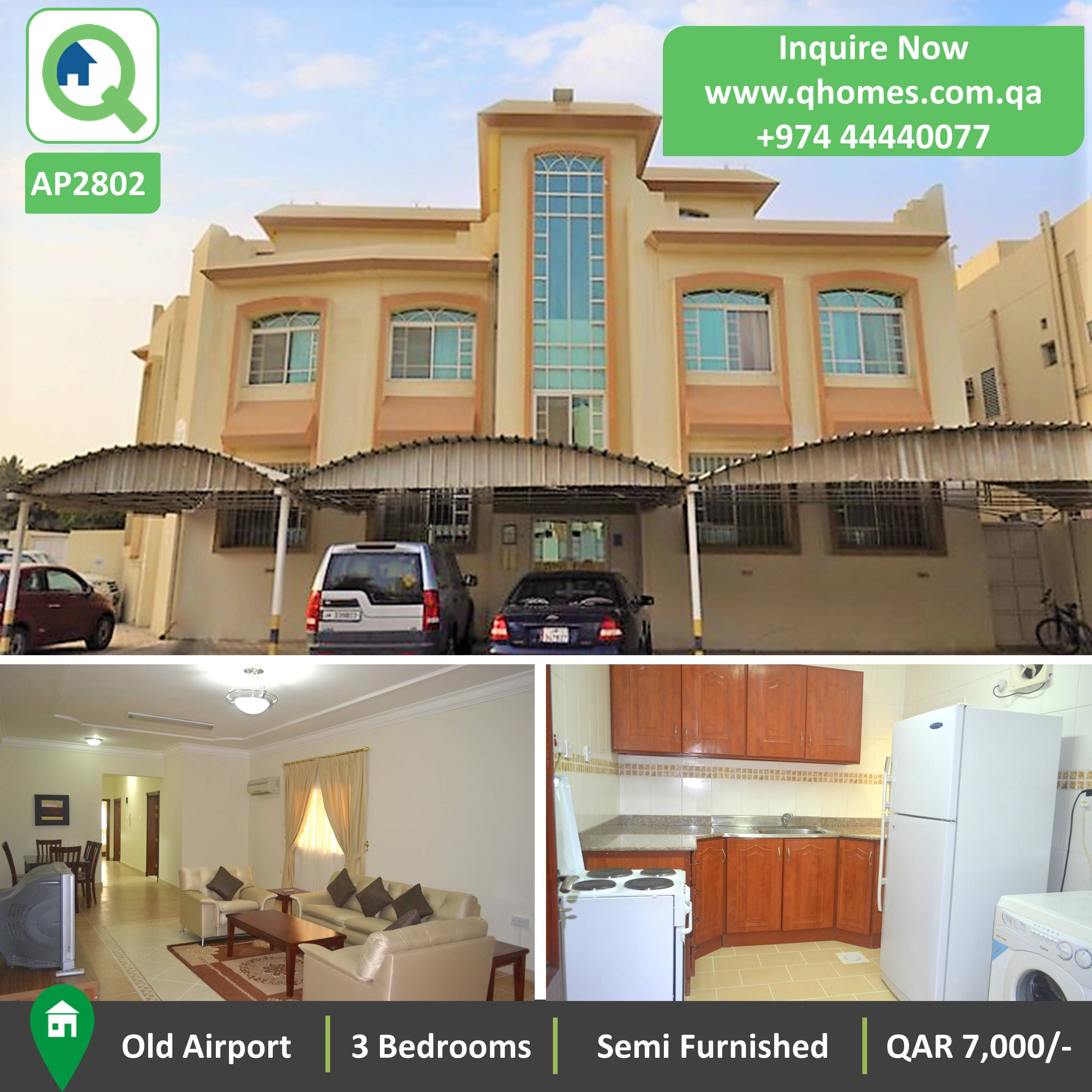 Apartment For Rent Old Airport Qatar