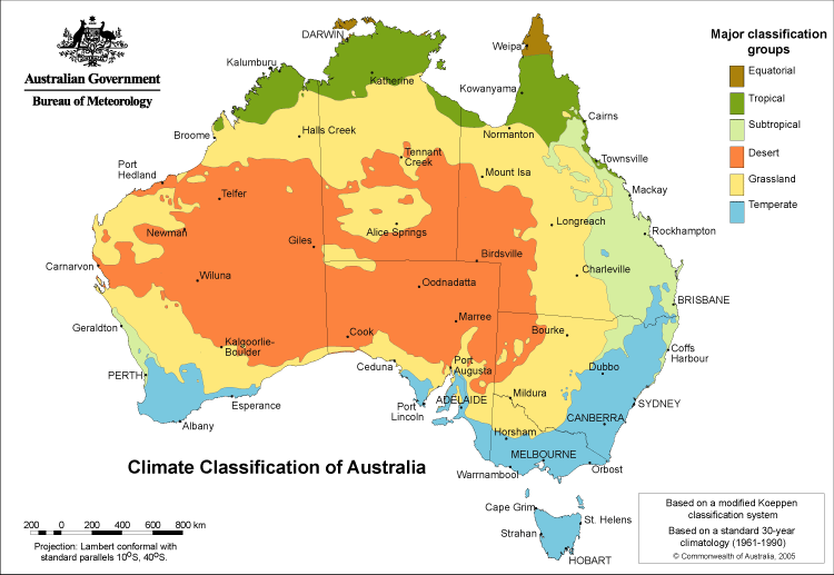 Map Of Australia And Neighbouring Countries.By The End Of This Unit Students Will Understand The Climate And