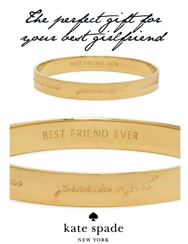 Kate Spade Best Friend Forever Bracelet