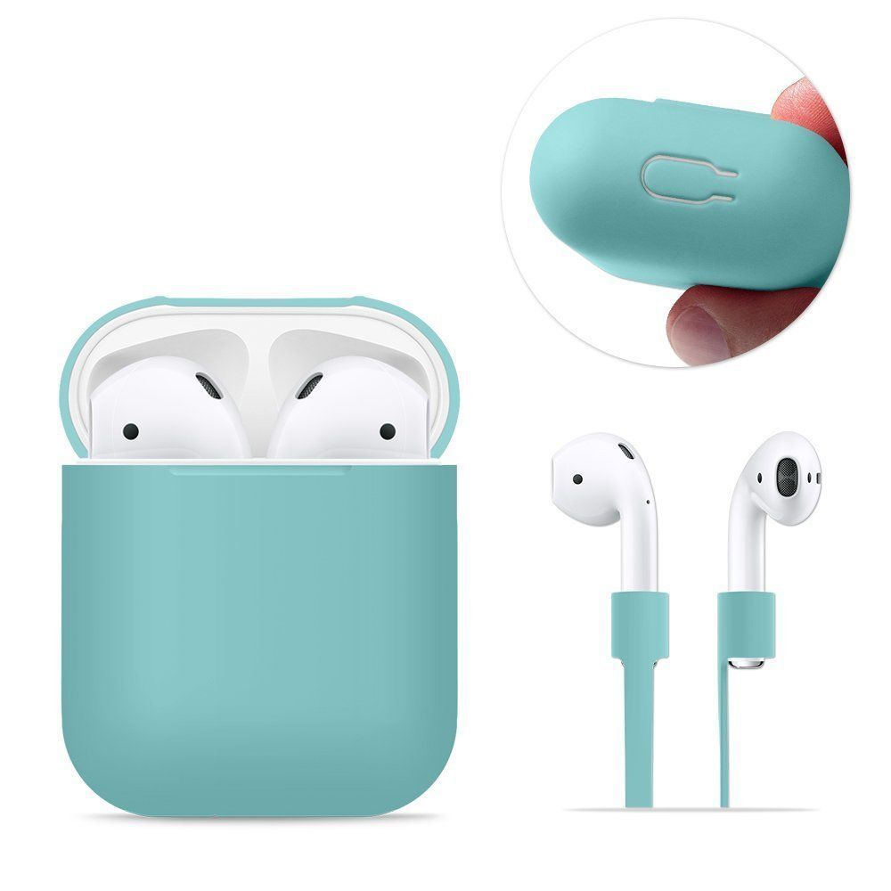 Details About Airpods Silicone Charging Case Cover Protective Rubber For Apple Air Pod 6 In 1 Earbuds Case Trendy Phone Cases Airpod Case