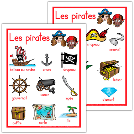 affiches les pirates oc an jack le pirate pinterest pirate affiches et pirates maternelle. Black Bedroom Furniture Sets. Home Design Ideas