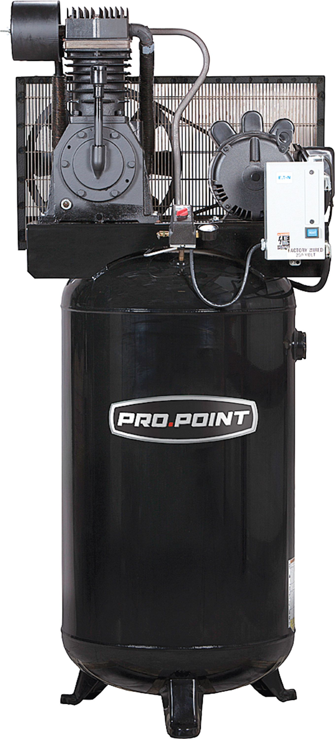 80 Gallon 2Stage Cast Iron Industrial Air Compressor