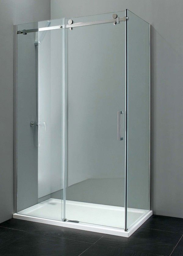 Sevilla Frameless 8mm Sliding Door 1200mm Frameless Sliding Doors Frameless Shower Doors Sliding Doors