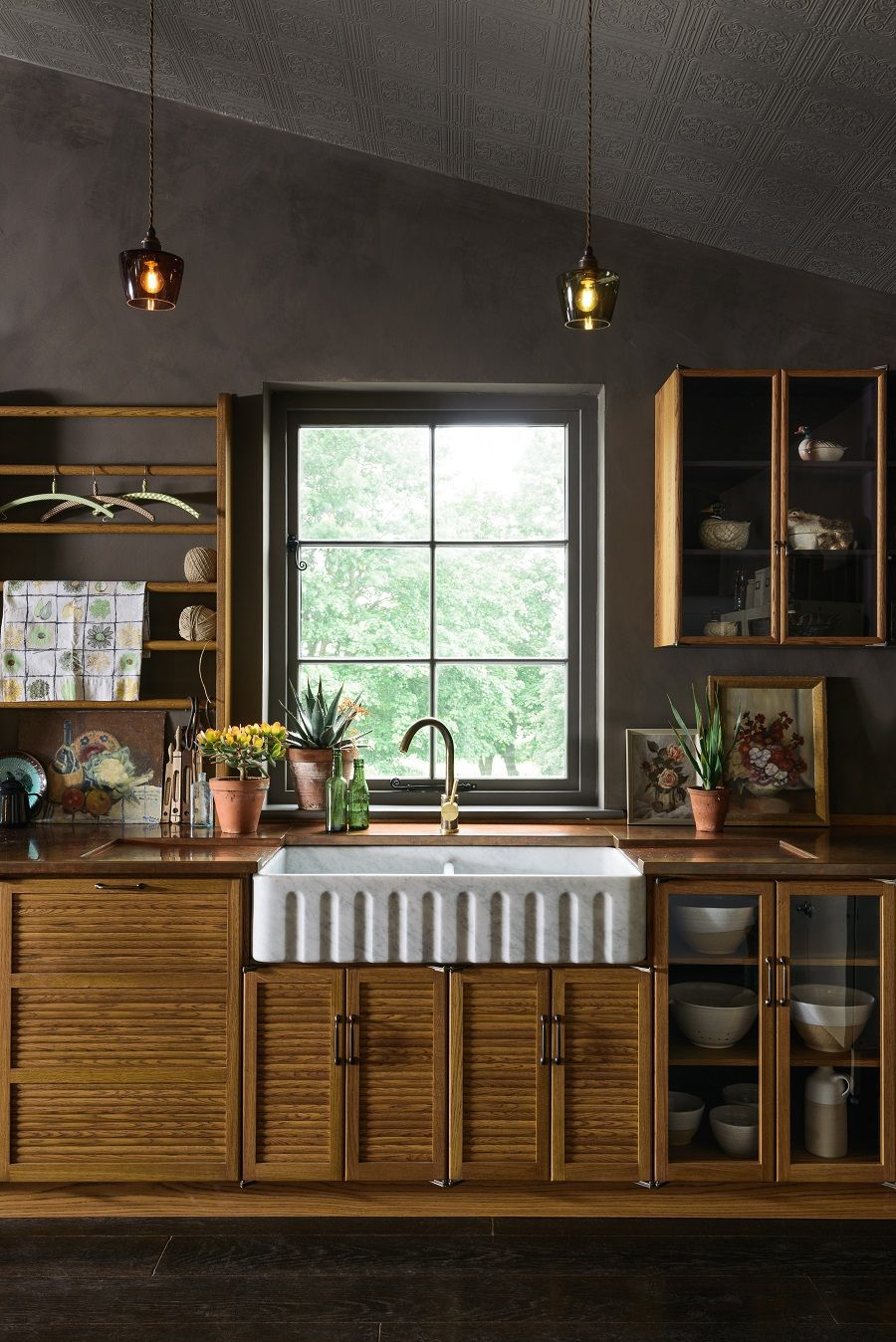 When Does a Kitchen Not Look Like a Kitchen Decor, Devol