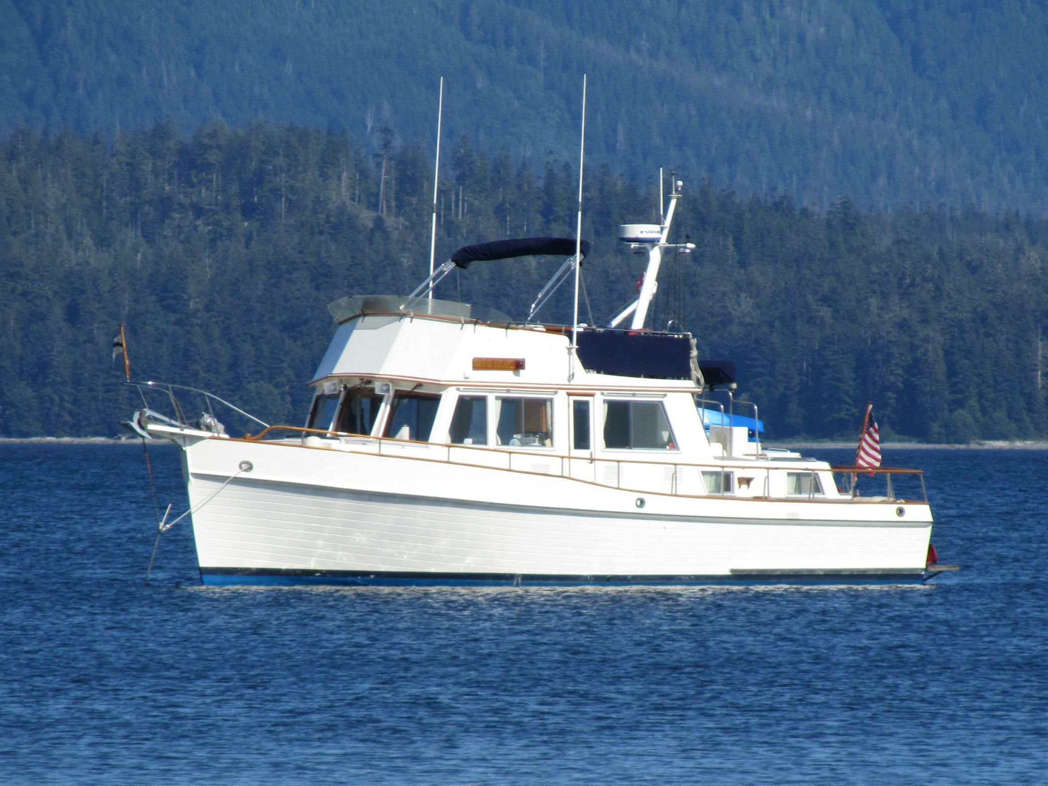 1991 Grand Banks 42 Classic In Seattle Wa Soldboats Grandbanks Trawlers Classic Boats Boat Grands