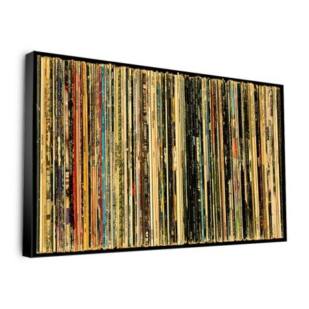 22 Inch Classic Rock Albums Wall Art By Bughouse I Love This 60s Wall Art Music Themed Rooms Wall Art