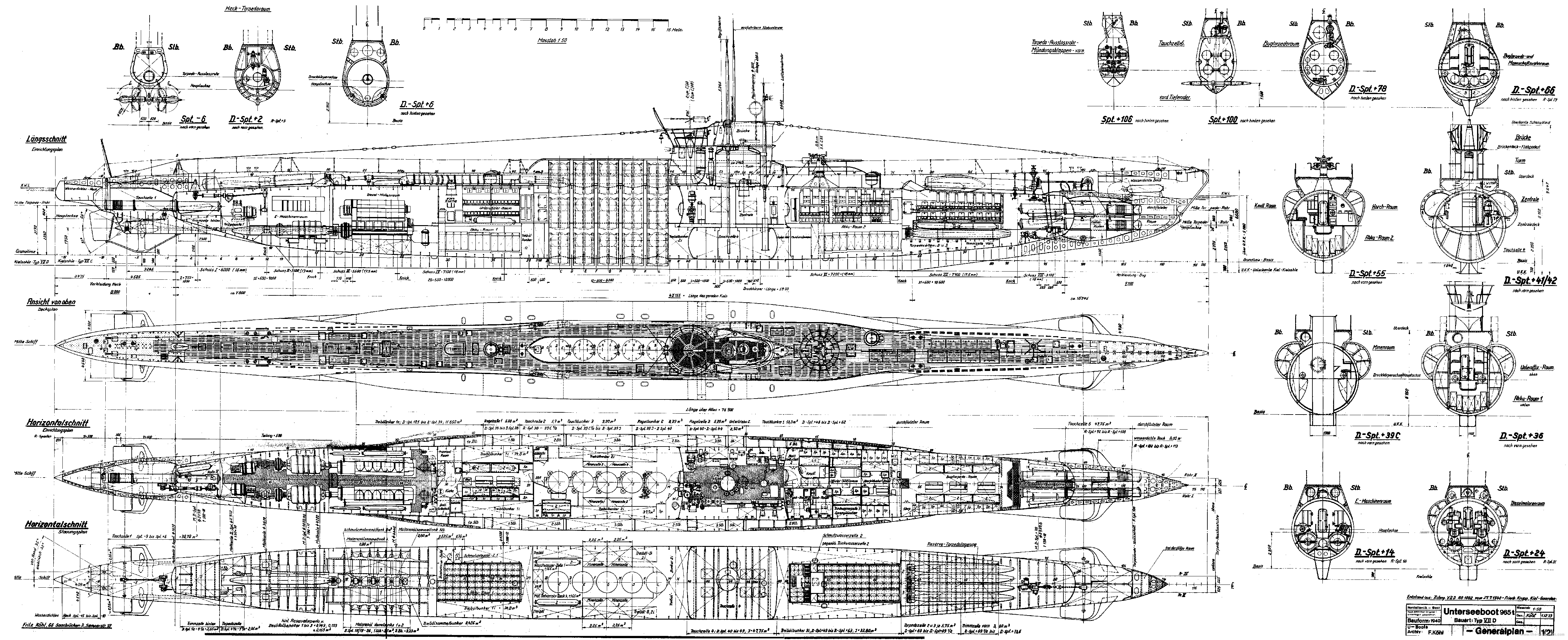 type 21 u boat german sub [ 5000 x 2041 Pixel ]