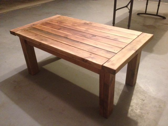 Tables Made Out Of 2x4 Posted By Jbayer80 Diy Home Furniture