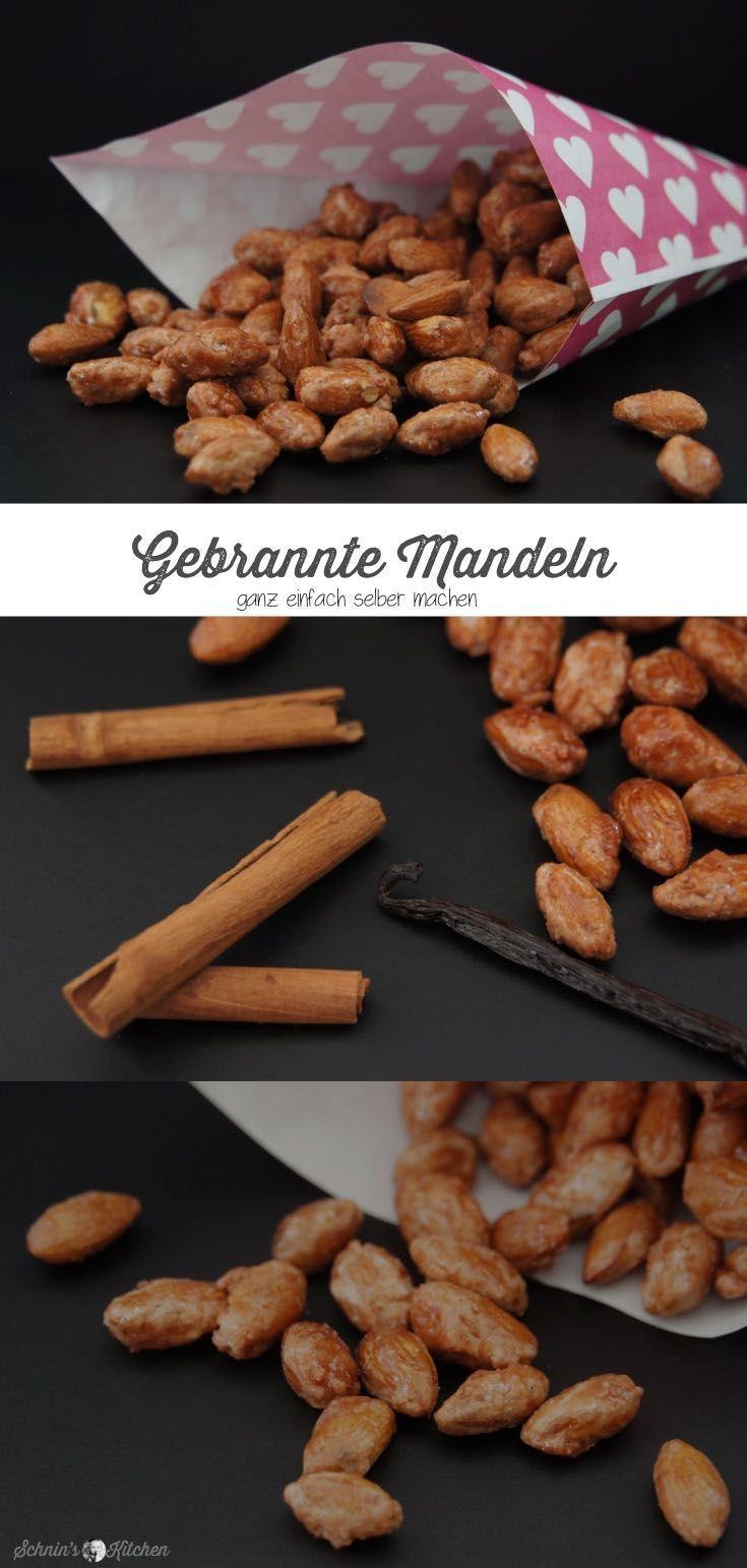 Gebrannte Mandeln mit Vanille und Zimt - Schnin's Kitchen