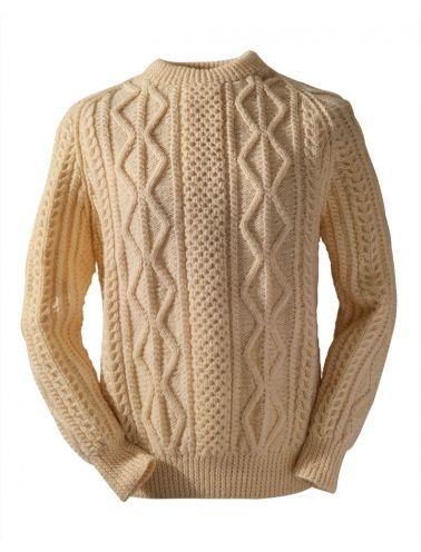 Okeeffe Clan Irish Aran Sweater Ireland Arts Culture