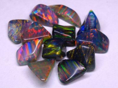 Opal Mountain Mine | Virgin Valley Black Fire Opal Rainbow