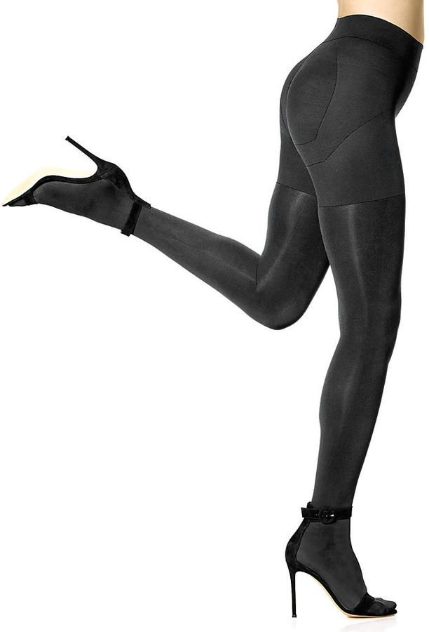 ae2a7a936348e Details about HUE Matte Opaque Shaping Tights Hosiery - Women's in ...
