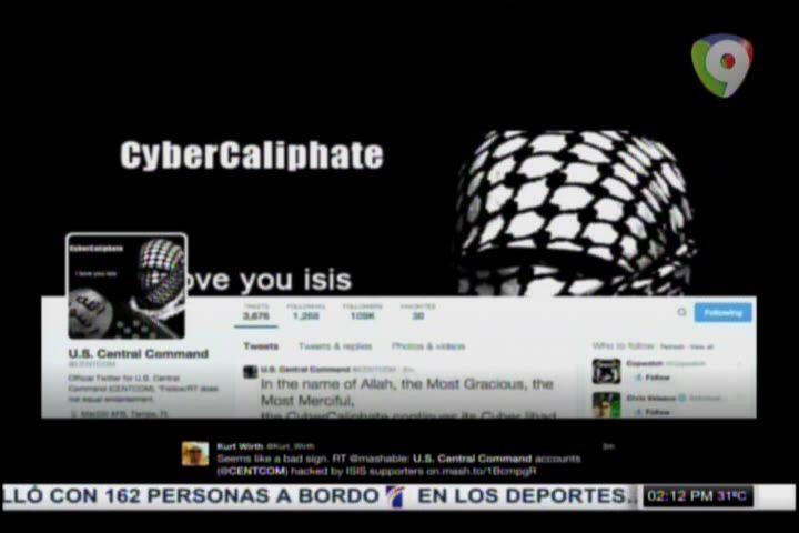 Hackers Del Estado Islámico Accesan A Cuenta De Twitter De Agencia Militar Estadounidense Y Revel A Datos De Agentes #Video