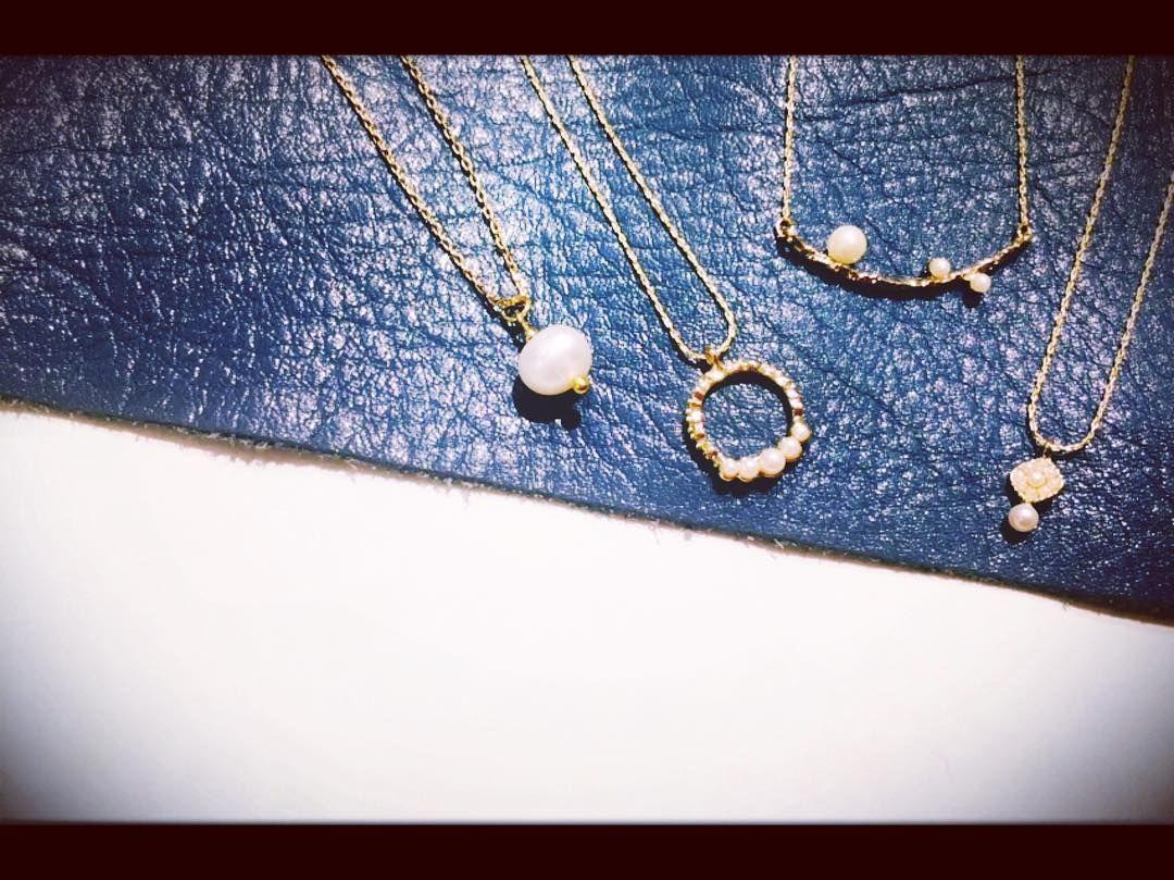 新作パール  #ear#earpapillonner#イアパピヨネ#shinjuku#新宿#新宿ミロード店#Perl#パール#necklace#ネックレス#accessory#アクセサリー#original#オリジナル#gold#ゴールド#white#ホワイト#bridal#bridalstyle#bridalfashion#ブライダル#結婚式#cute#大人#かわいい#fashion#ファッション#followme#フォロー by uchitami