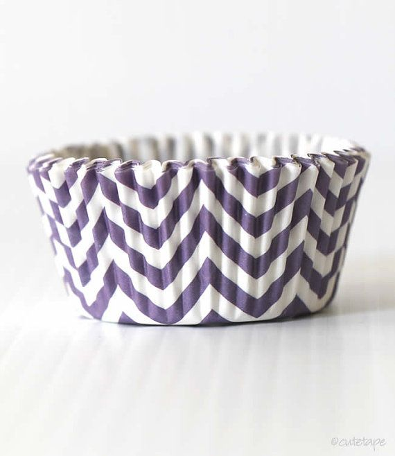 Hey, I found this really awesome Etsy listing at http://www.etsy.com/listing/154669497/purple-chevron-cupcake-liners-set-of-40