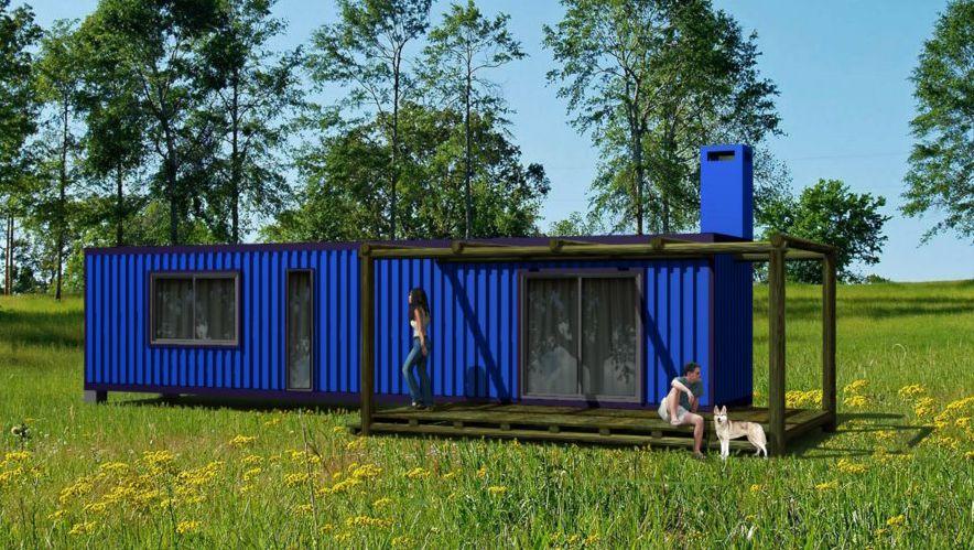 Containers casas interiores buscar con google container pinterest buscar con google - Casas hechas con contenedores maritimos ...