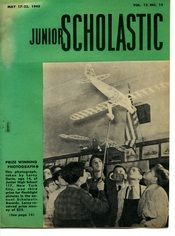 Junior Scholastic from May of 1943