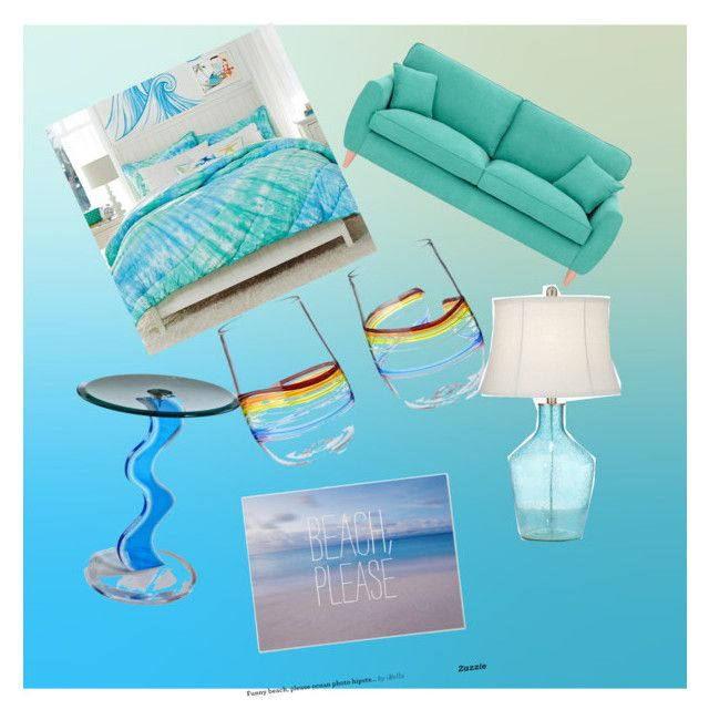 """""""beach please"""" by freenank ❤ liked on Polyvore featuring interior, interiors, interior design, home, home decor, interior decorating, PBteen, Fearne Cotton and Pacific Coast"""