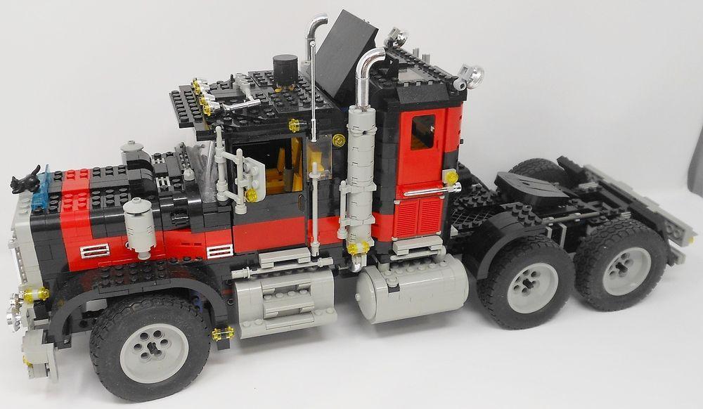 Lego 5571 Model Team 5571 Black Cat Giant Truck Retired Rare No