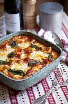 Mozzarella, tomato, and gnocchi bake (I've made this - it's delicious!)