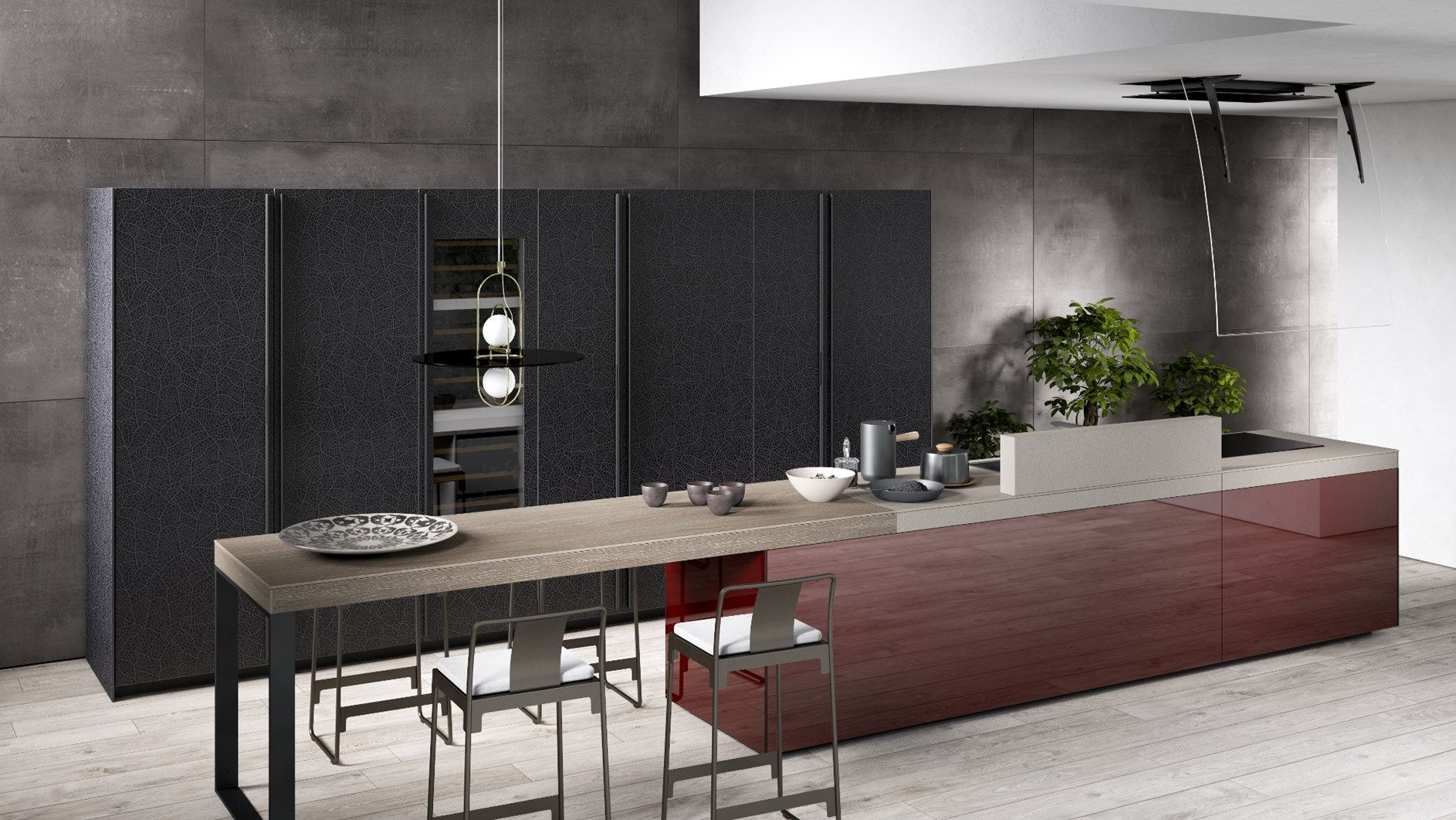 Configurador De Cocinas Valcucine Genius And Customisation The New Home Bar And The