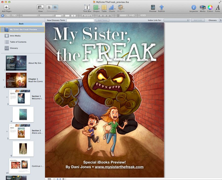 A look inside iBooks Author    Writing, Illustrations