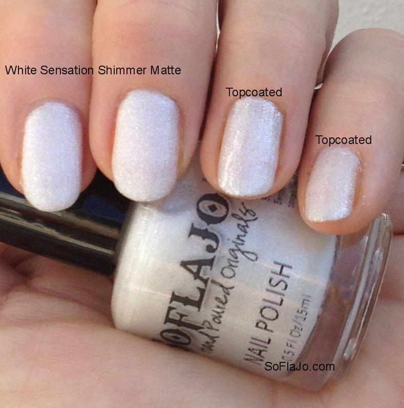 SoFlaJo-White-Sensation from Matte Love | Nail Polish group board ...